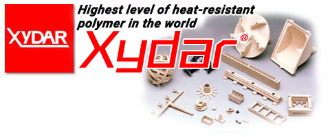 XYDAR® (Liquid Crystal Polymer: LCP): High heat-resistant